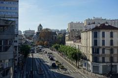 Eglise Saint-Pierre-Saint-Paul -  Etoiles d'Ivry @ Brutalist housing project @ Jean Renaudie @ Place Voltaire @ Ivry-sur-Seine