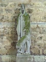 Eglise Saint-Pierre-Saint-Paul - English: Statue de Saint-Frambourg de l'Église saint-Pierre-saint-Paul d'Ivry-sur-Seine