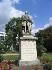 Ecole nationale vétérinaire -  Statue de Claude Bourgelat fondateur des écoles vétérinaires