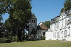 Eglise Saint-Julien-de-Brioude - Deutsch: Château du prieuré in Marolles-en-Brie im Département Val-de-Marne (Île-de-France/Frankreich)