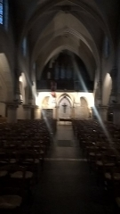 Eglise Saint-Saturnin - Français:   Détails architecturaux de l\'église Saint-Saturnin, Nogent-sur-Marne.