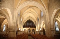 Eglise Saint-Saturnin - Français:   Intérieur de l\'église St Saturnin. Photographie Mathieu Génon