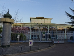 Pavillon Baltard -  Pavillon Baltard - Former building in the center of Paris Les Halles - remounted in a close suburb, Nogent-sur-Marne  No more in use as a market