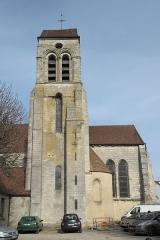Eglise Saint-Martin - Deutsch: Katholische Pfarrkirche Saint-Martin in Sucy-en-Brie im Département Val-de-Marne (Île-de-France/Frankreich), Glockenturm