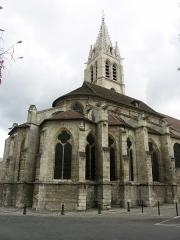 Eglise Saint-Germain -  Vitry sur Seine - Eglise St Germain - vue arrière