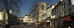 Eglise Notre-Dame-des-Vertus - English: Center of the city of Aubervilliers.