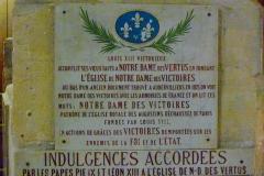 Eglise Notre-Dame-des-Vertus - Deutsch: Gedenktafel in der katholischen Pfarrkirche Notre-Dame-des-Vertus in Aubervilliers