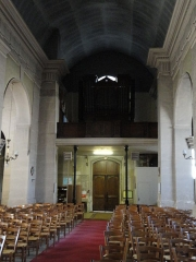 Eglise Saint-Germain - English: Church Saint-Germain l'Auxerrois of Pantin- Historic monument - The organ