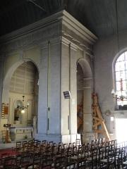 Eglise Saint-Germain - English: Church Saint-Germain l'Auxerrois of Pantin- Historic monument- Interior