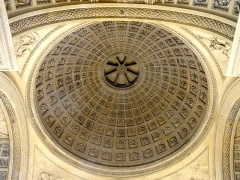Carmel - Français:   Chapelle de l\'ancien Carmel, intérieur, dôme.