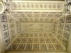 Carmel - Français:   Chapelle de l\'ancien Carmel, intérieur, plafond du narthex.
