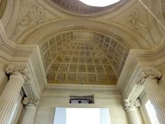 Carmel - Français:   Chapelle de l\'ancien Carmel, intérieur, plafond à caissons.