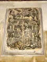 Carmel - Français:   Armoiries de l\'ancien couvent des Carmélites (à l\'intérieur).