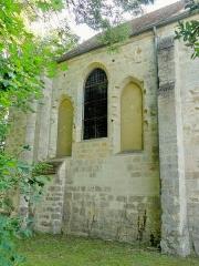 Eglise -  Chapelle nord du chœur, côté nord.