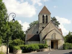 Eglise -  Vue depuis l'ouest.