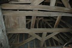 Eglise - English: Photo taken Inside Aincourt's church steeple