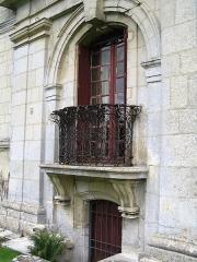 Château -  Chateau d'Ambleville, Val d'oise, France