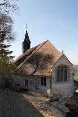 Eglise - Deutsch: Kirche St-Léger in Amenucourt