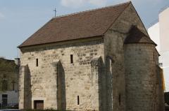 Chapelle Saint-Jean - Deutsch: Romanische Kapelle St-Jean-Baptiste in Argenteuil im Département Val-d'Oise (Île-de-France/Frankreich)