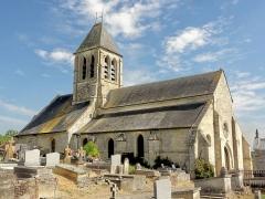 Eglise Saint-Pierre-Saint-Paul -  Vue depuis le nord.