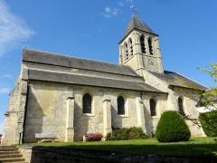 Eglise Saint-Pierre-Saint-Paul -  Vue depuis le sud.