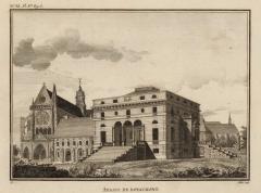 Abbaye de Royaumont - French engraver
