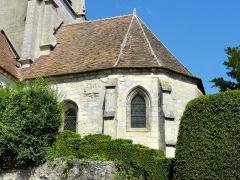 Eglise Saint-Denis -  Chœur, vue depuis le sud.