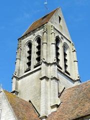 Eglise Saint-Denis -  Clocher, vue depuis le sud-est.