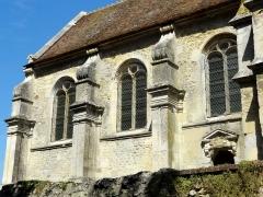 Eglise Saint-Denis -  Nef, côté sud.