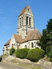 Eglise Saint-Denis -  Vue depuis l'est.