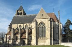Eglise Saint-Gervais et Saint-Protais - Deutsch: Katholische Pfarrkirche Saint-Gervais-Saint-Protais in Bessancourt im Département Val-d'Oise (Île de France/Frankreich), Ansicht von Süden