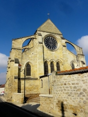 Eglise Saint-André -  Vue sur le chevet.