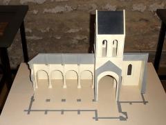 Eglise Saint-Crépin-Saint-Crépinien -  Maquette de l'église au musée du Vexin français.