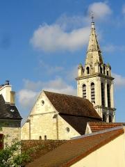 Eglise Saint-Christophe - Français:   Vue à travers les toits depuis le nord-est.