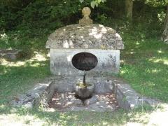 Domaine de Villarceaux -  Source captée au parc.