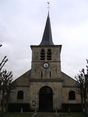 Eglise Saint-Leu-Saint-Gilles - English: Saint-Leu-Saint-Gilles Church, in Chennevières-lès-Louvres, in Val d'Oise, France.