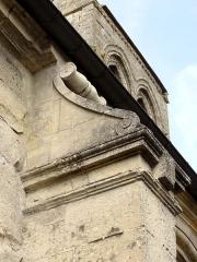 Eglise Saint-Germain-de-Paris -  Bas-côté sud, premier contrefort intermédiaire.