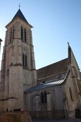 Eglise Saint-Martin - Deutsch: katholische Pfarrkirche Saint-Martin in Cormeilles-en-Parisis im Département Val-d'Oise (Île-de-France)