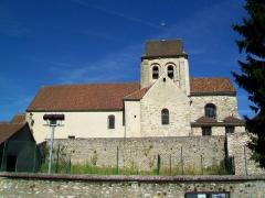 Eglise Saint-Martin - Français:   L\'église Saint-Martin, vue depuis le sud.