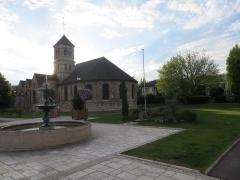 Eglise prieurale et paroissiale de Saint-Eugène - English: Eglise Notre-Dame de Deuil-La Barre