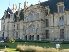 Domaine du Château d'Ecouen, actuellement musée de la Renaissance - Français:   Façade septentrionale du Château d\'Ecouen dans le Val d\'Oise.