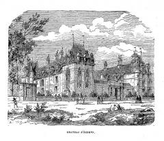 Domaine du Château d'Ecouen, actuellement musée de la Renaissance - Français:   Château d\'Ecouen