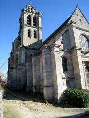 Eglise -  Façade ouest de l'église d'Epiais-Rhus