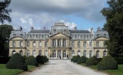 Domaine de Champlatreux - English: Castle of Champlatreux, in Epinay-Champlatreux, 95270, France