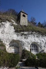 Eglise troglodytique de l'Annonciation - Deutsch: Église de l'Annonciation in Haute-Isle