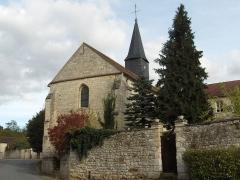Eglise -  Vue de l'église d'Hédouville