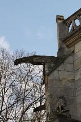 Eglise Saint-Martin - Deutsch: Katholische Pfarrkirche Saint-Martin in Herblay, einer Gemeinde im Département Val d'Oise (Île de France), Wasserspeier