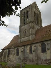Eglise Saint-Clair -  Eglise Saint-Clair à Hérouville (Vexin français, Val-d'Oise)