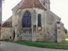 Eglise Saint-Clair - Français:   Chevet.