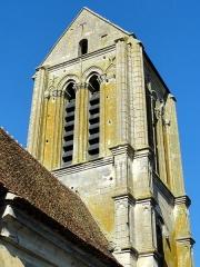 Eglise Saint-Clair - Français:   Clocher, côté sud-ouest.